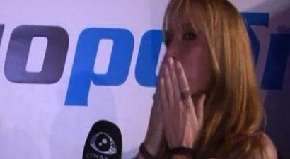 Σε κλάματα ξέσπασε on camera η Πάολα (βίντεο)