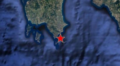 Σεισμός 5 Ρίχτερ νότια της Κορώνης