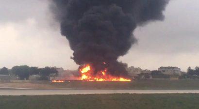 Πέντε νεκροί από συντριβή αεροπλάνου στη Μάλτα