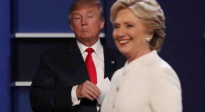 Σάρωσε τον Τραμπ και στην τρίτη τηλεμαχία η Χίλαρι Κλίντον