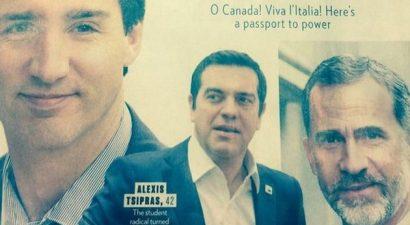 Στην πεντάδα με τους πιο σέξι πολιτικούς παγκοσμίως ο Τσίπρας