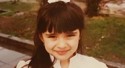 Ελληνίδα παρουσιάστρια το κοριτσάκι της φωτογραφίας