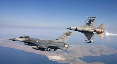 Δύο τουρκικά F-16 πέταξαν πάνω από την νήσο Παναγιά