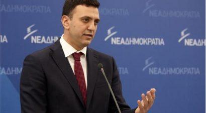 """Β. Κικίλιας: """"Η ανασυγκρότηση της χώρας μπορεί να έρθει μόνο με πολιτική αλλαγή"""""""