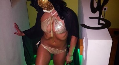 «Τερμάτισε» το σέξι σε πάρτι μασκέ επώνυμη Ελληνίδα (εικόνα)