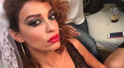 Ε.Φουρέιρα: Η νυχτερινή πόζα στο μπαλκόνι της προκάλεσε πανικό στο Instagram (εικόνα)