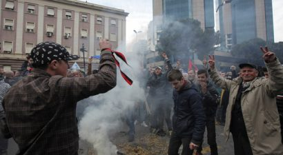Αλβανία: Διαδηλώσεις στα Τίρανα εναντίον της κυβέρνησης Ράμα
