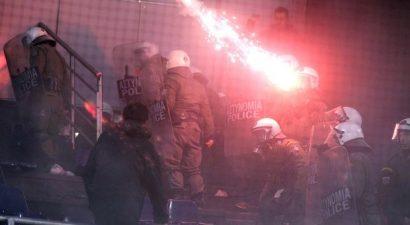 Επτά συλλήψεις για τα επεισόδια στο Αλεξάνδρειο