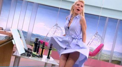 Το φόρεμα της Μενεγάκη έκανε αποκαλύψεις (βίντεο)