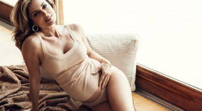 Κ.Λάσπα: Φωτογραφίζεται με σέξι κορμάκια δύο μήνες πριν γεννήσει (εικόνες)