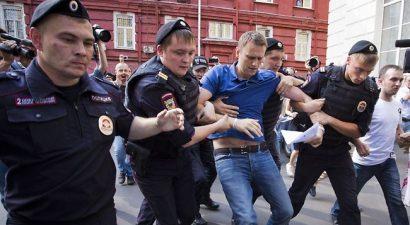 Συνελήφθη ο ηγέτης της ρωσικής αντιπολίτευσης
