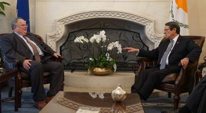 Συνάντηση Κοτζιά-  Αναστασιάδη με επίκεντρο το Κυπριακό