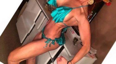 Εικόνα-σοκ: Για αγώνες bodybuilding έτοιμη γνωστή Ελληνίδα τραγουδίστρια