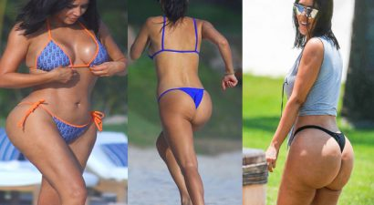 Και επίσημα καλοκαίρι: Οι Καρντάσιαν πήγαν παραλία με στρινγκ (εικόνες)