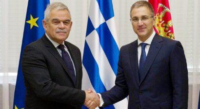 Αναβαθμίζεται η συνεργασία των Αστυνομιών Ελλάδας - Σερβίας