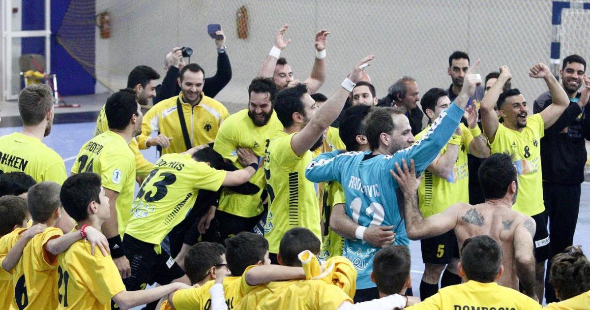 Η ΑΕΚ προκρίθηκε με πανηγυρικό τρόπο στους «4» του Challenge Cup στο χάντμπολ