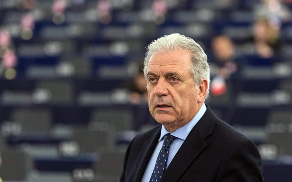 Ο Δημήτρης Αβραμόλους, Ευρωπαίος Επίτροπος