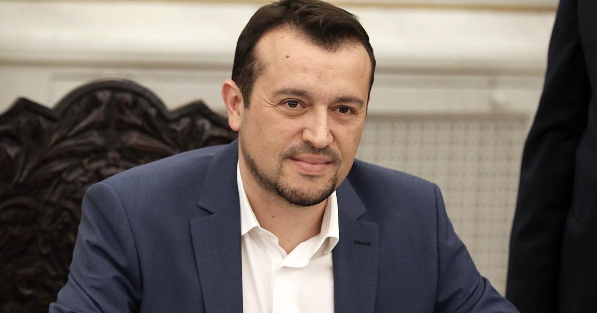 O υπουργός Ψηφιακής Πολιτικής, Τηλεπικοινωνιών και Ενημέρωσης Νικόλαος Παππάς