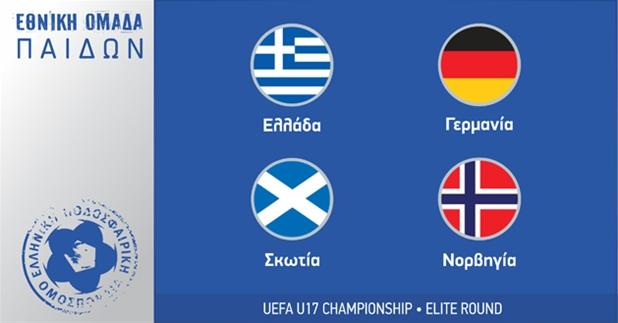 Οι αντίπαλοι της εθνικής Παίδων στον 8ο όμιλο της Elite Round
