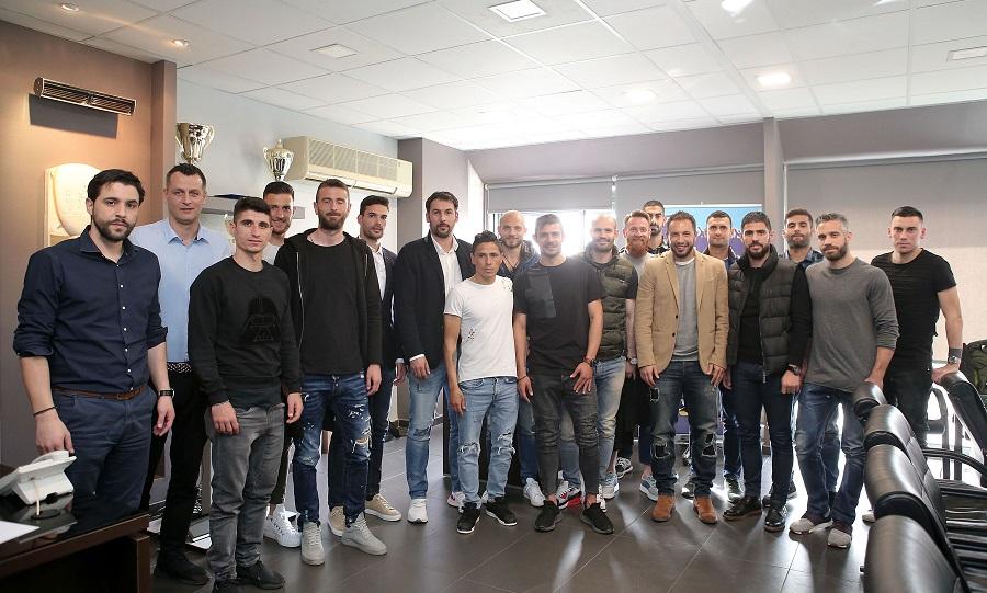 Η διοίκηση του ΠΣΑΠ συναντήθηκε με τους αρχηγούς των ΠΑΕ στη Super League