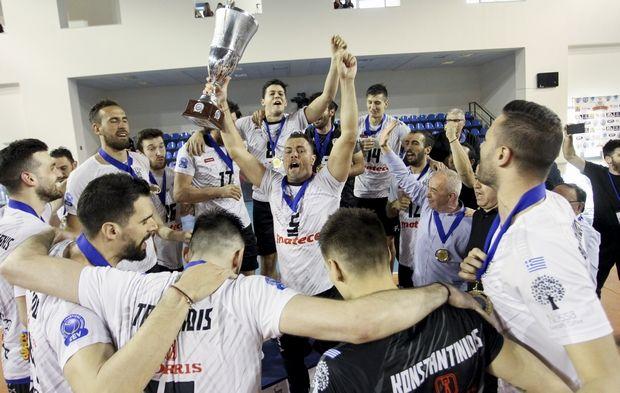 Ο ΠΑΟΚ, στον τελικό του κυπέλλου βόλεϊ, «καθάρισε» τον Ηρακλή με 3-0 και κατέκτησε το δεύτερο τρόπαιο στην ιστορία του