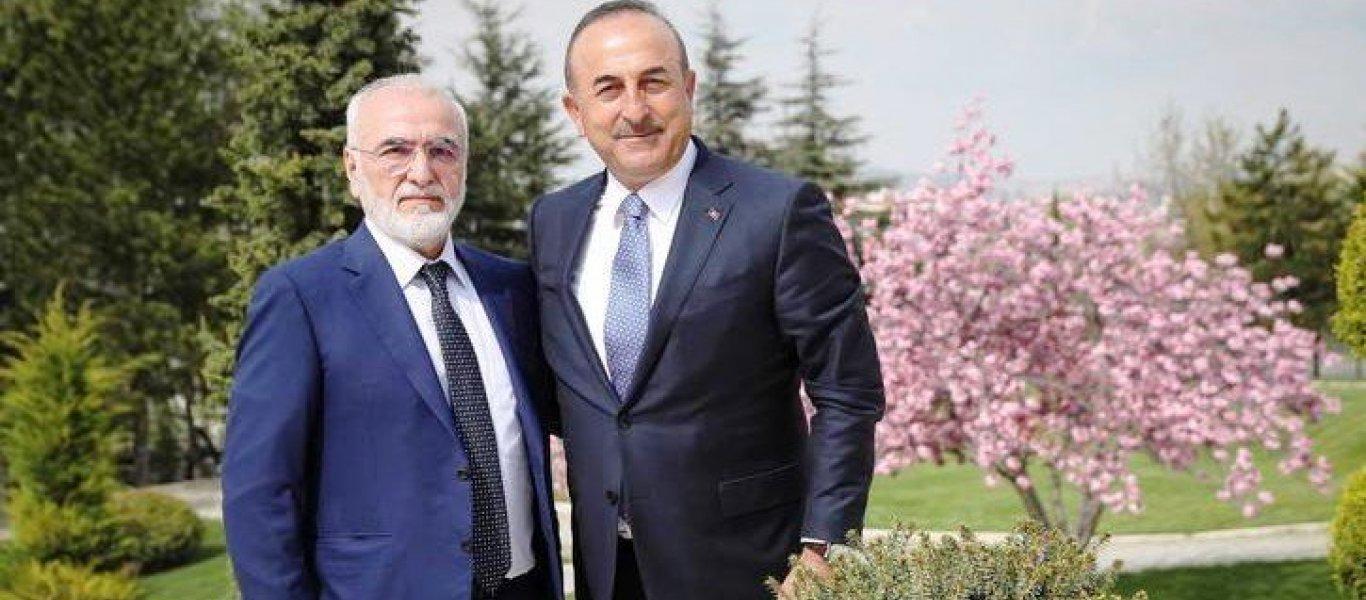 Ο μεγαλομέτοχος και πρόεδρος της ΠΑΕ ΠΑΟΚ συναντήθηκε με τον υπουργό των Εξωτερικών της Τουρκίας, Μεβλούτ Τσαβούσογλου