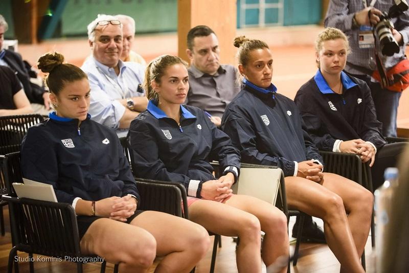 Εθνική γυναικών τένις, FED CUP 2018