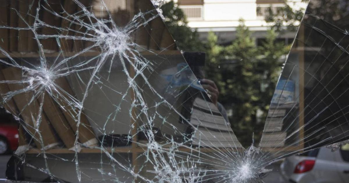 87a5a89dfb Νέο χτύπημα Ρουβίκωνα σε πολυκατάστημα (βίντεο) • Η Άποψη